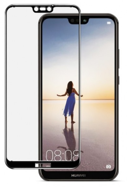 Tvrzené sklo Aligator GLASS FULL COVER pro Huawei P20 Lite, Black