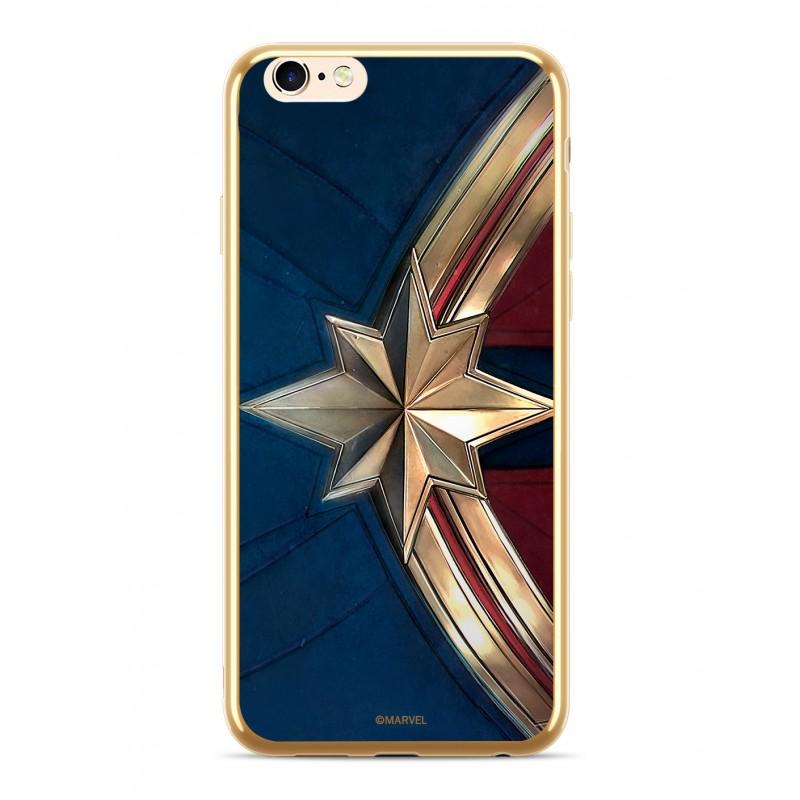 Zadní kryt Captain Marvel 001 pro Apple iPhone 6/7/8 Plus, gold