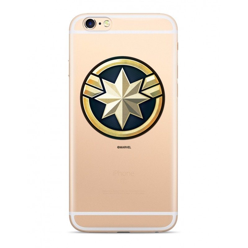 Zadní kryt Captain Marvel 016 pro Apple iPhone 5/5S/SE, transparent