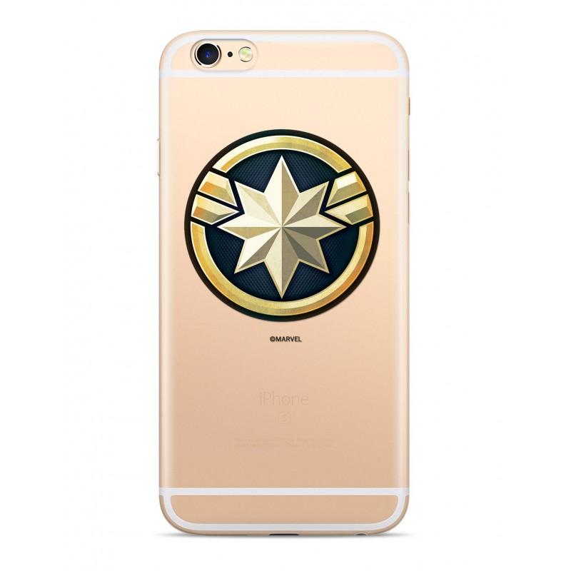 Zadní kryt Captain Marvel 016 pro Samsung Galaxy S10e, transparent
