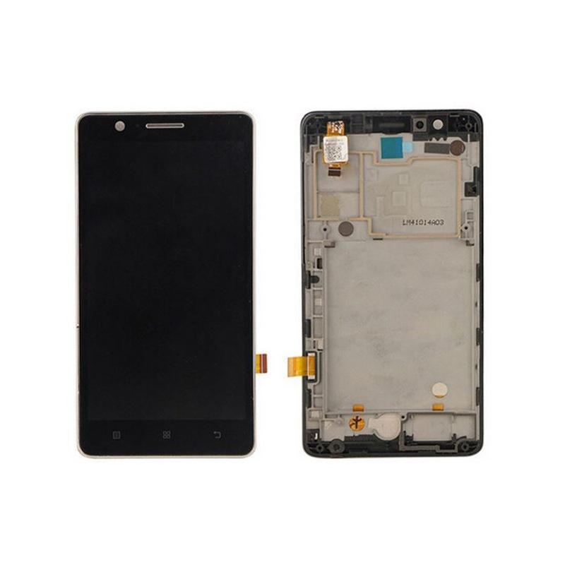 LCD + dotyk + rámeček pro Lenovo A536, black