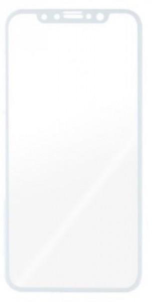 Tvrzené sklo Aligator GLASS FULL COVER 3D pro Apple iPhone X, White
