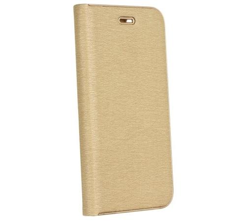 Pouzdro Forcell Luna Book pro Samsung Galaxy S10e, gold