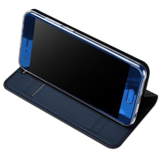 Flipové pouzdro Dux Ducis Skin pro Samsung Galaxy S10e, modrá