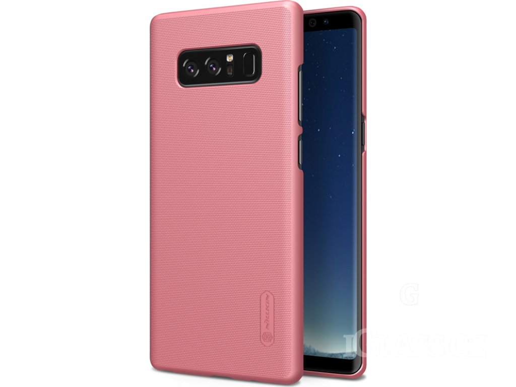 Nillkin Super Frosted kryt + fólie pro Samsung Galaxy S10e, rose gold
