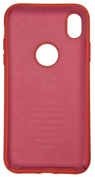Pouzdro Redpoint Smart Magnetic pro Apple iPhone X/XS, Red