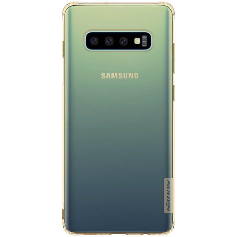 Nillkin Nature silikonové pouzdro pro Samsung Galaxy S10, tawny
