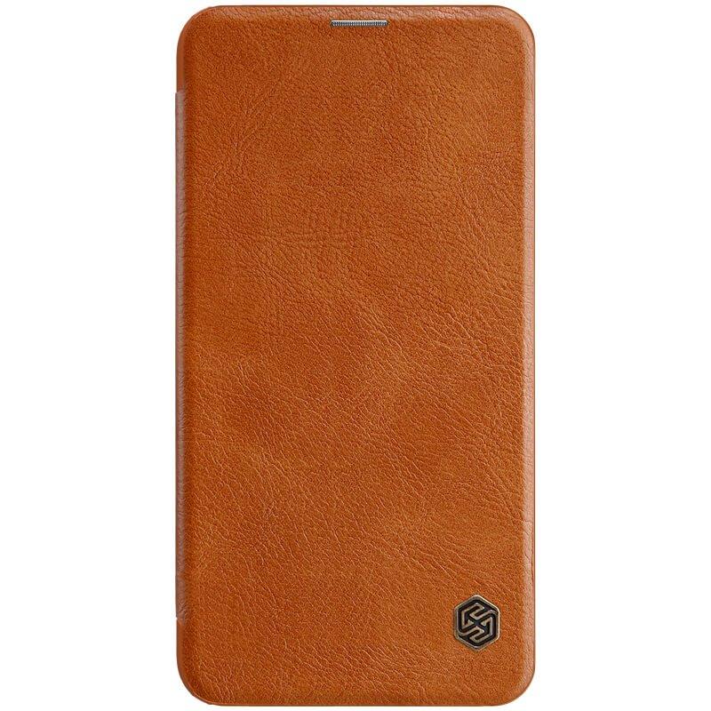 Nillkin Qin flipové pouzdro pro Samsung Galaxy S10e,brown