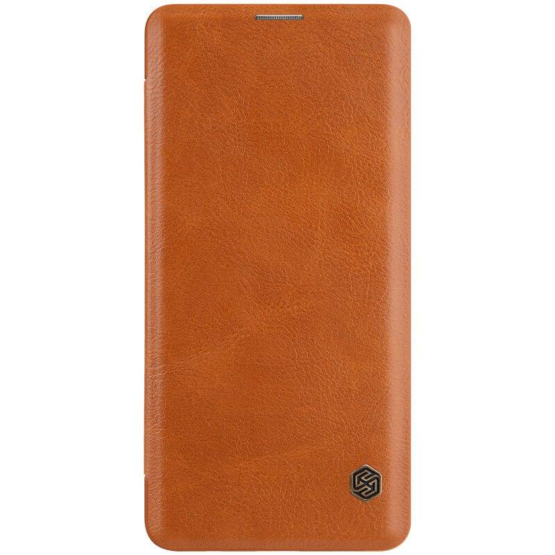 Nillkin Qin flipové pouzdro pro Samsung Galaxy S10+, brown