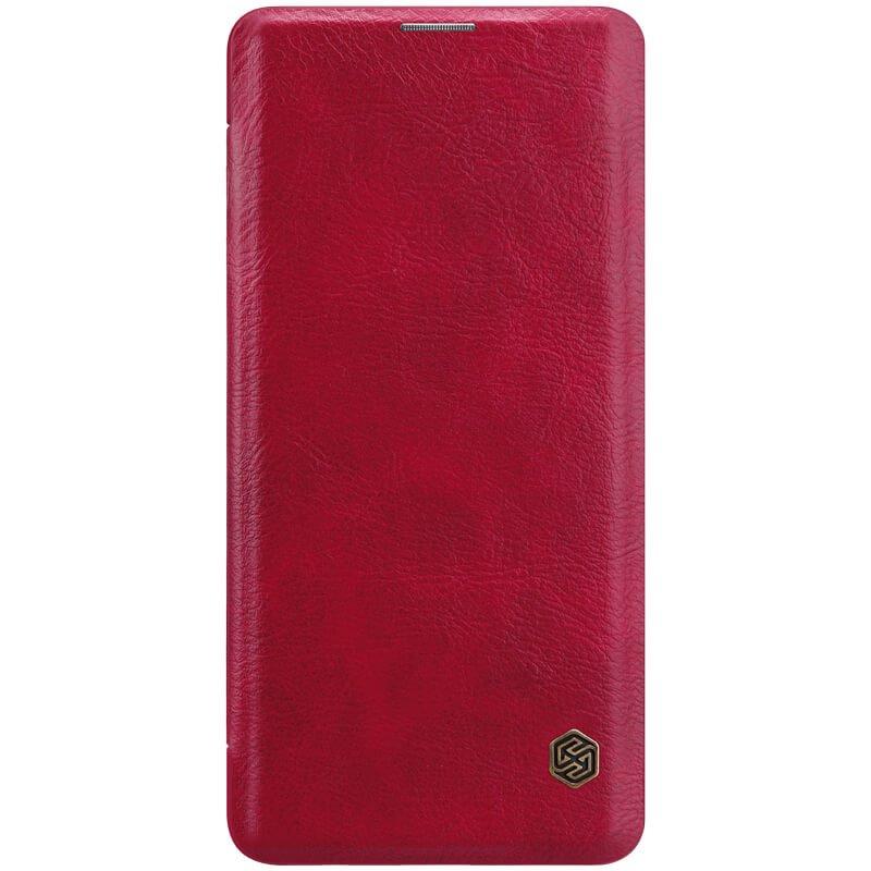 Nillkin Qin flipové pouzdro pro Samsung Galaxy S10+, red