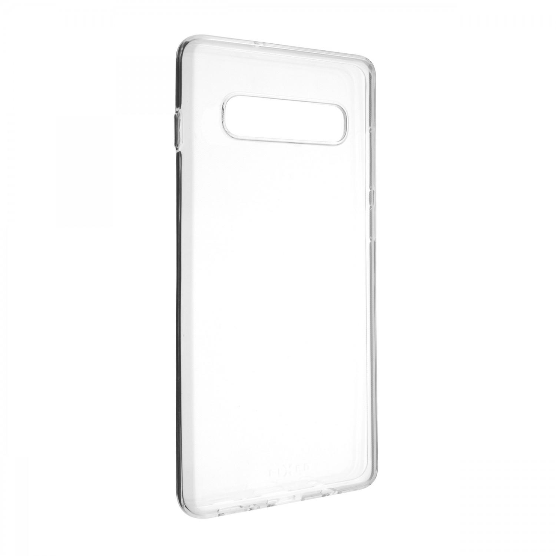FIXED Skin ultratenké pouzdro pro Samsung Galaxy S10+, čirá