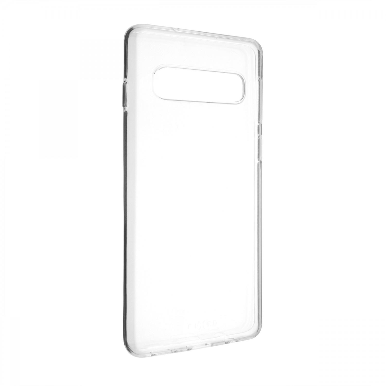 FIXED Skin ultratenké pouzdro pro Samsung Galaxy S10, čirá