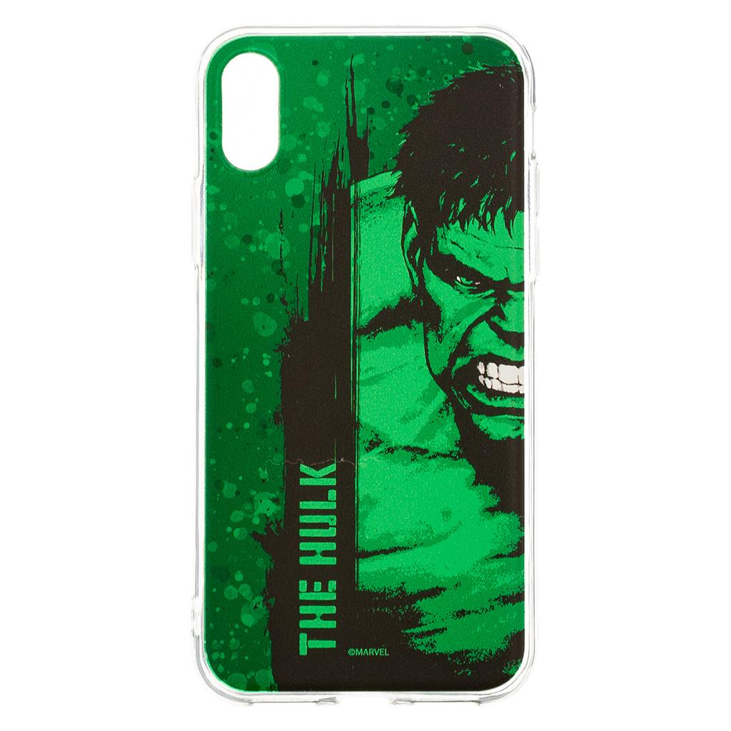Zadní kryt Marvel Hulk 001 pro Apple iPhone X, green