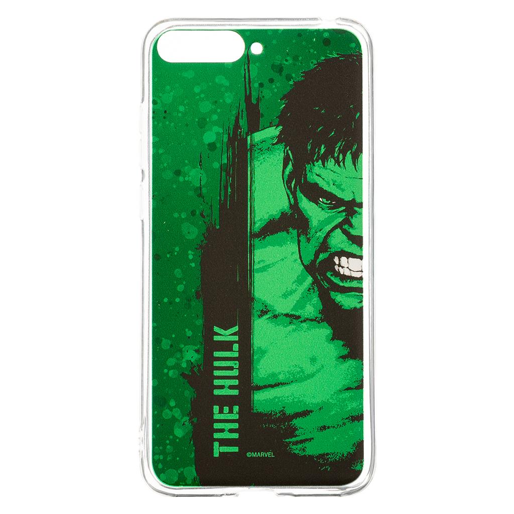 Zadní kryt Marvel Hulk 001 pro Huawei Y6 2018, green