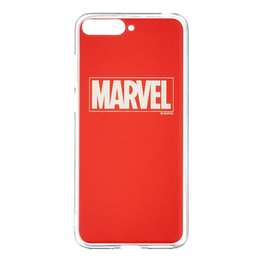Zadní kryt Marvel 002 pro Huawei Y6 2018, red