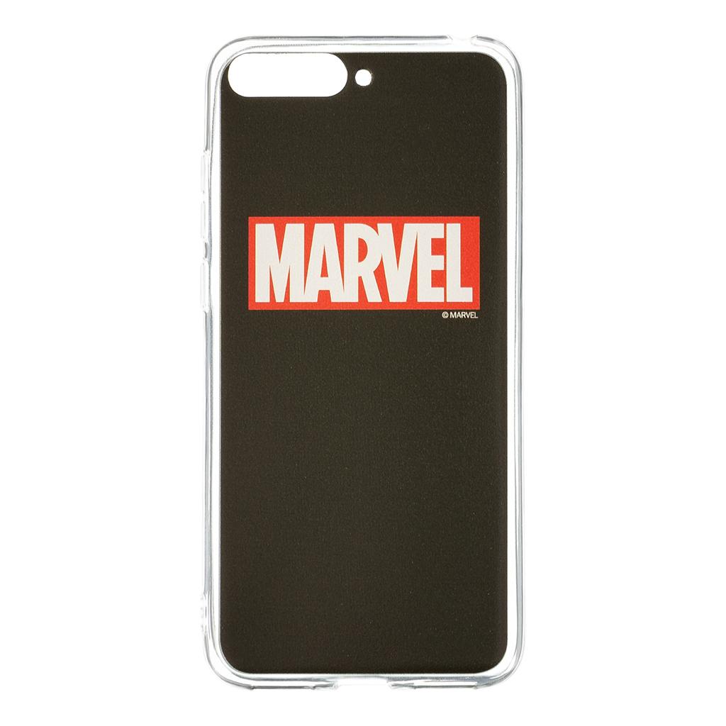 Zadní kryt Marvel 002 pro Huawei Y6 2018, black