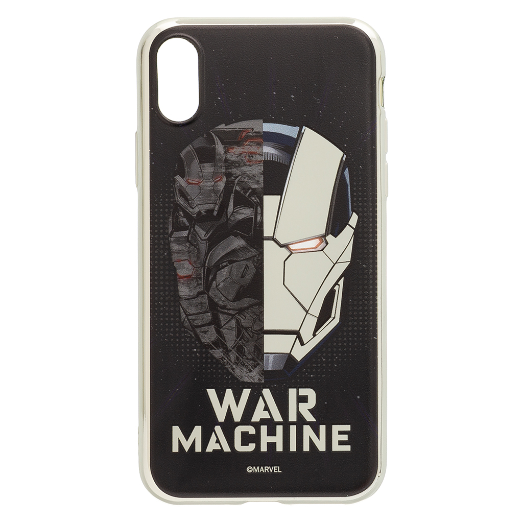 Zadní kryt Iron Man War 001 pro Apple iPhone X, silver