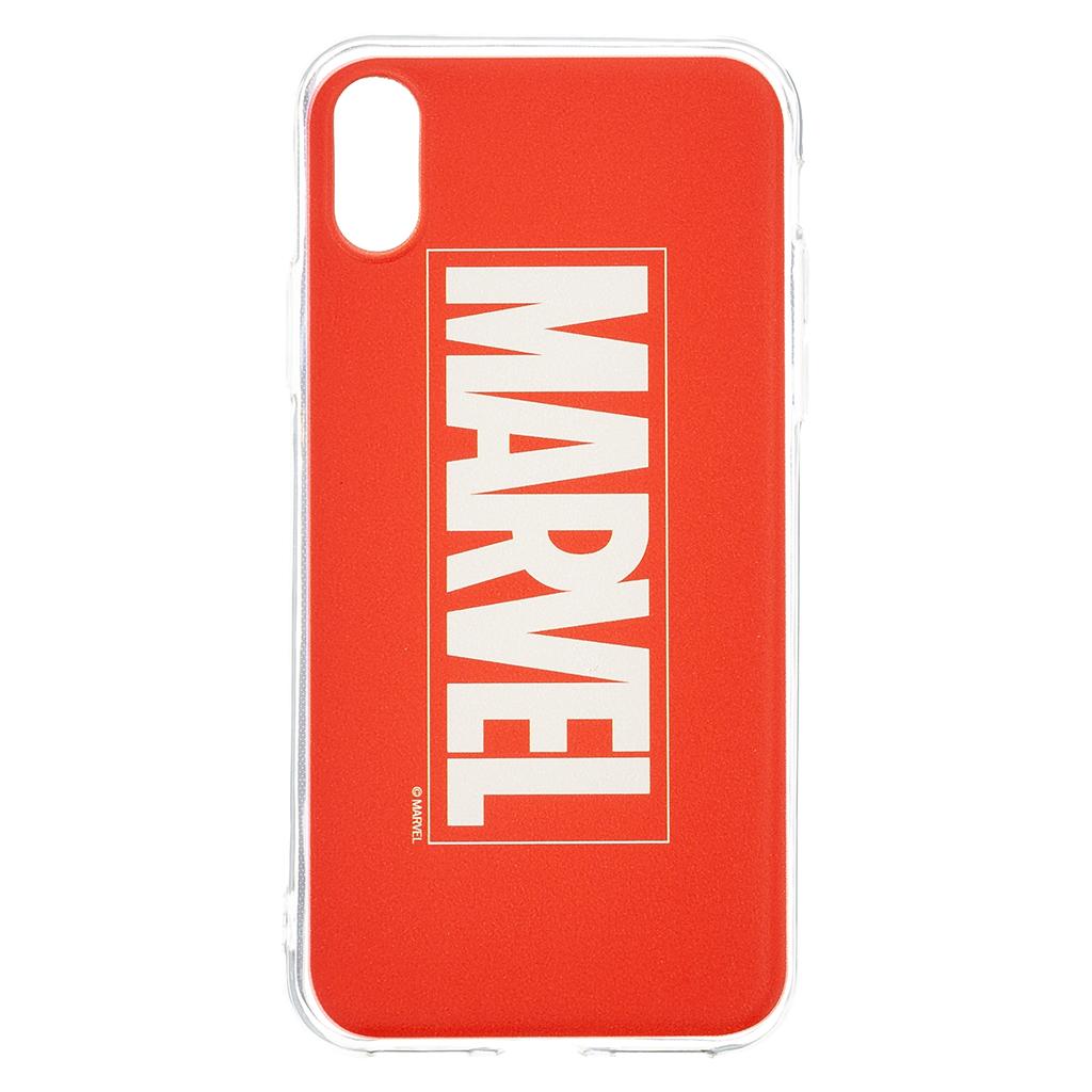 Zadní kryt Marvel 001 pro Apple Phone XS, red