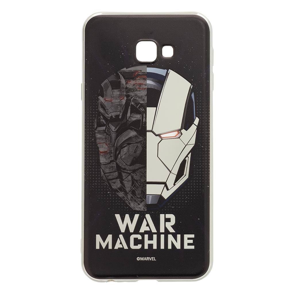 Zadní kryt Iron Man War 001 pro Samsung Galaxy J4+, silver