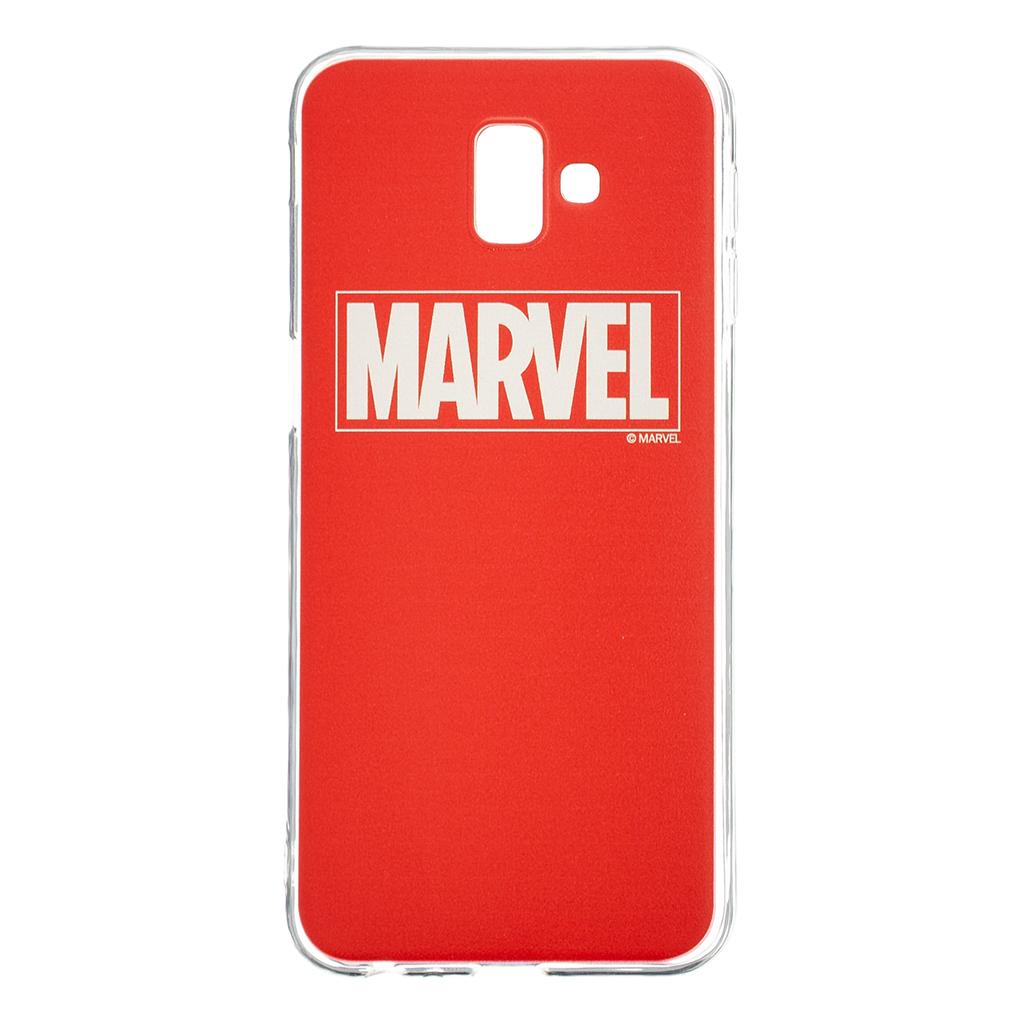 Zadní kryt Marvel 002 pro Samsung Galaxy J6+, red