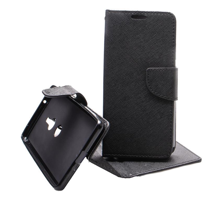 Pouzdro Fancy Book na Samsung Galaxy A7 2018, černá