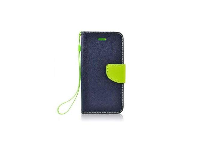 Pouzdro Mercury Fancy Diary pro Samsung Galaxy A7 2018, modrá