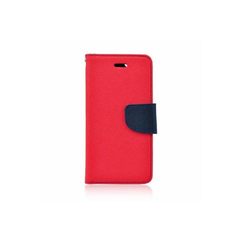 Pouzdro Mercury Fancy Diary pro Samsung Galaxy A7 2018, červená
