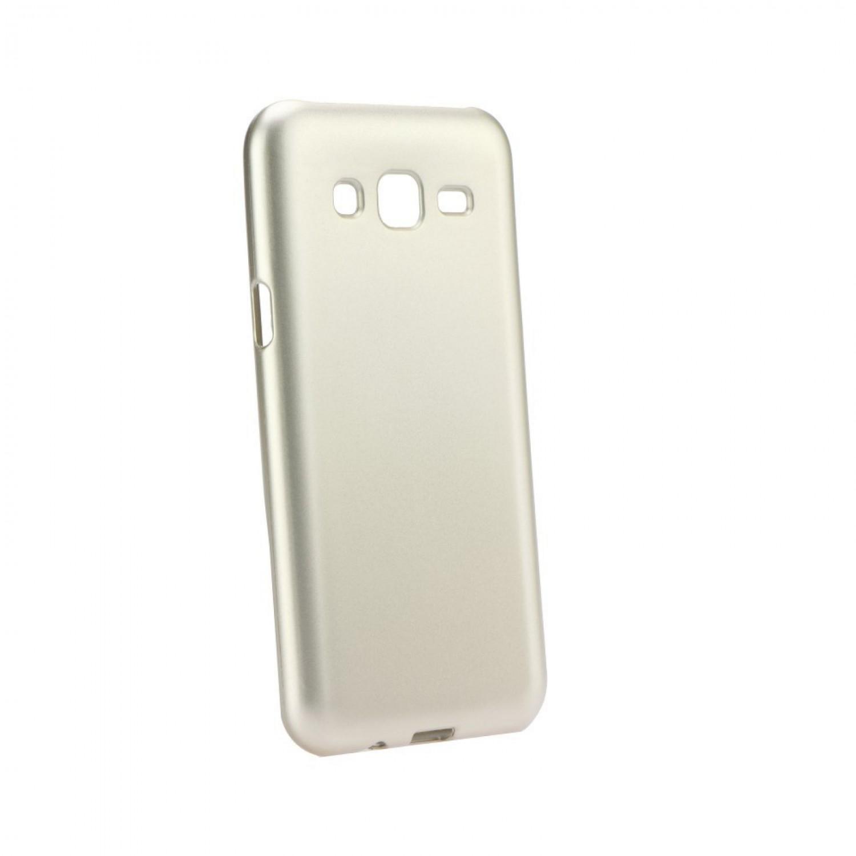 Pouzdro Jelly Case Flash Mat pro Samsung Galaxy A7 2018, zlatá