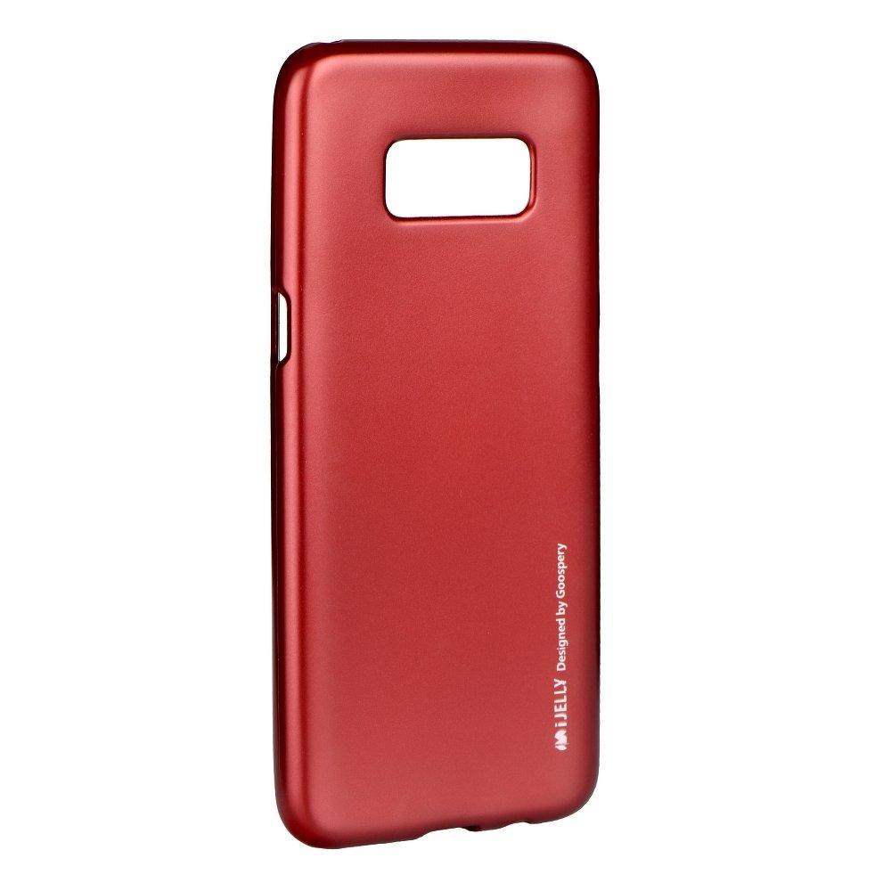 Pouzdro Jelly Case Flash Mat pro Samsung Galaxy A7 2018, červená