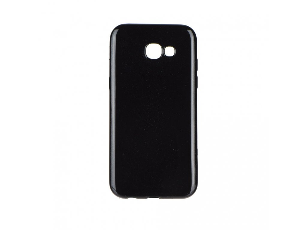 Pouzdro Jelly Case Flash Mat pro Samsung Galaxy A7 2018, černá