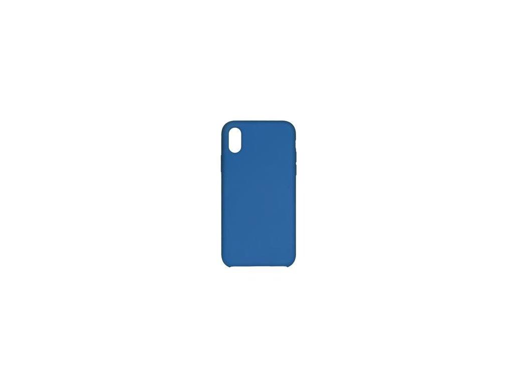 Silikonové pouzdro Swissten Liquid pro Samsung Galaxy A7 2018, modrá