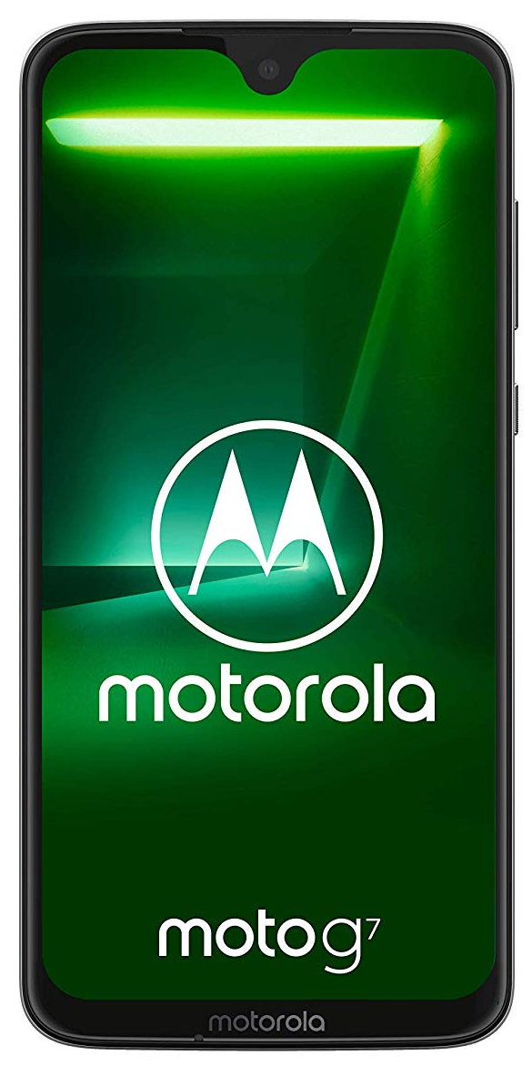 Motorola Moto G7 bílá