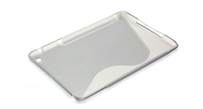 Pouzdro SUPER GEL pro Apple iPad Mini grey, Bulk