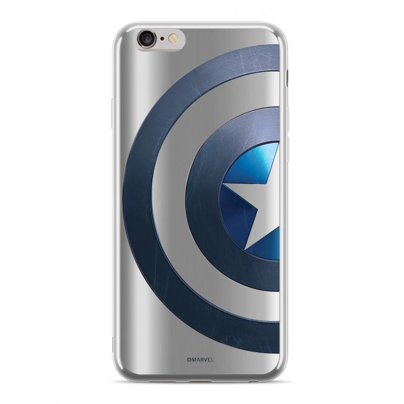 Zadní kryt Marvel Captain America 006 pro Huawei Nova 3i, silver