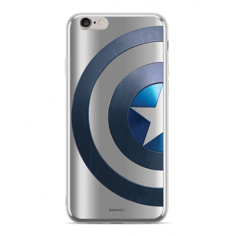Zadní kryt Marvel Captain America 006 pro Huawei P Smart , silver