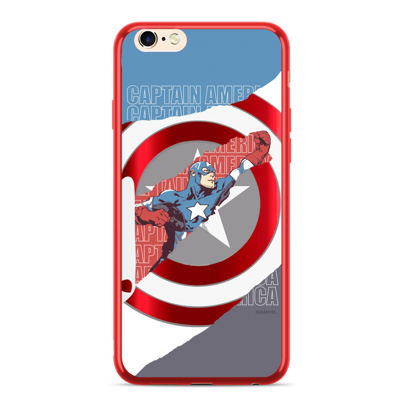 Zadní kryt Marvel Captain America 013 pro Huawei P20 Lite, red