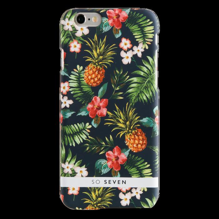 Zadní kryt SoSeven Rubber Jungle Pattern pro iPhone 6/6S/7/8, Ananas
