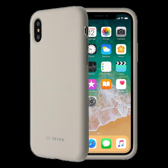 Zadní kryt SoSeven Smoothie pro Apple iPhone X/XS, Grey