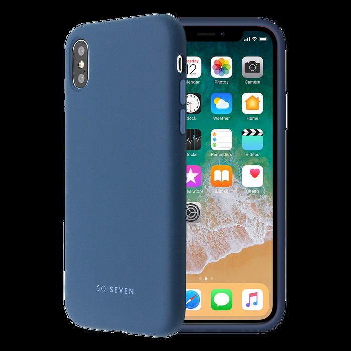 Zadní kryt SoSeven Smoothie pro Apple iPhone X/XS, Navy Blue