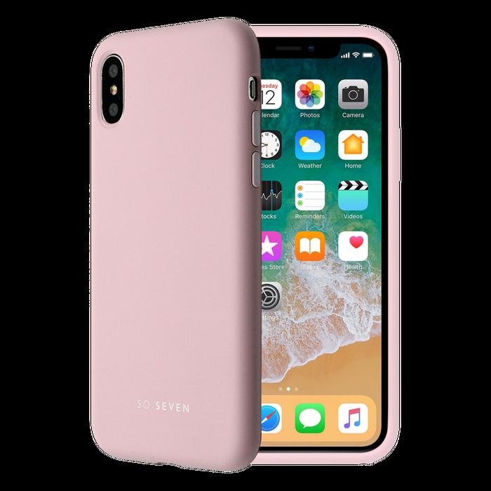Zadní kryt SoSeven Smoothie pro Apple iPhone X/XS, Pink