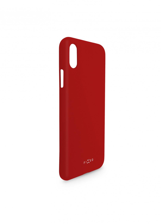 Zadní kryt FIXED Story pro Huawei P30, červená