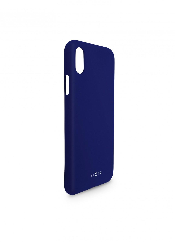 Zadní kryt FIXED Story pro Huawei P30, modrá