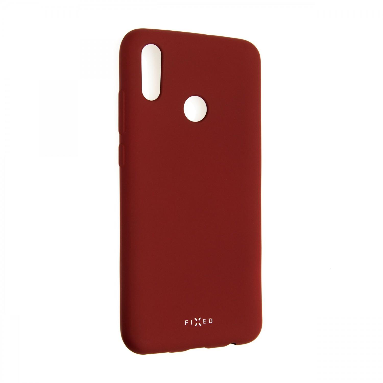 Zadní kryt FIXED Story pro Huawei P Smart (2019), červená