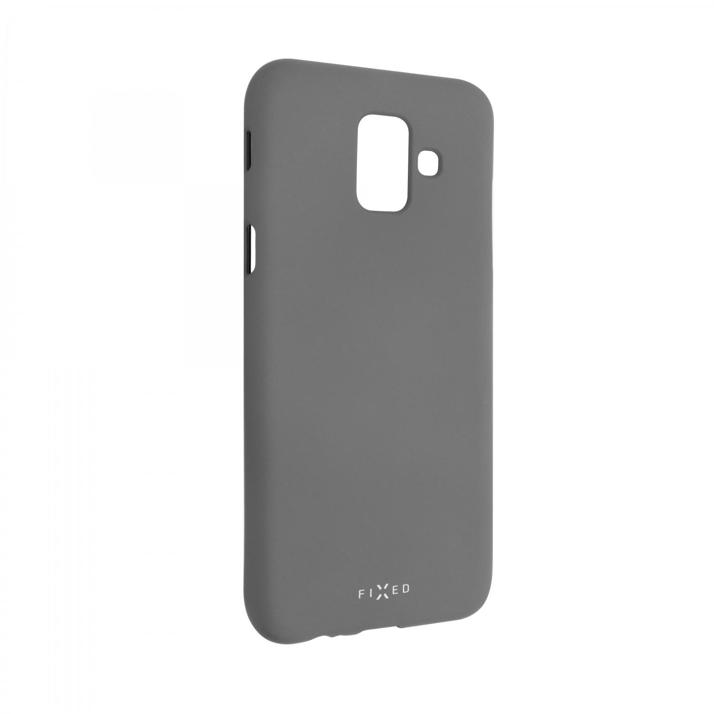 Zadní kryt FIXED Story pro Samsung Galaxy A6, šedá