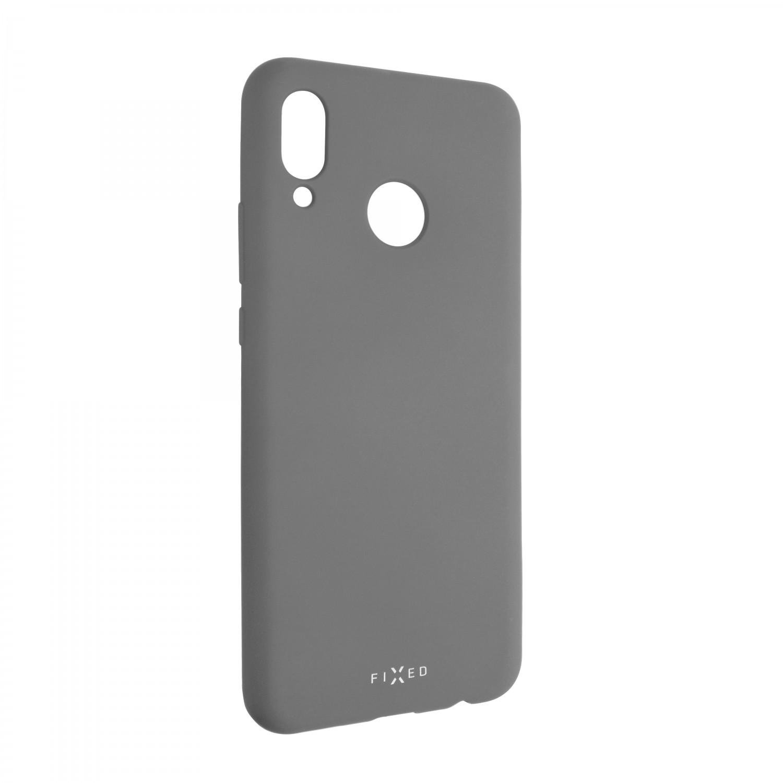 Zadní kryt FIXED Story pro Huawei Nova 3, šedá