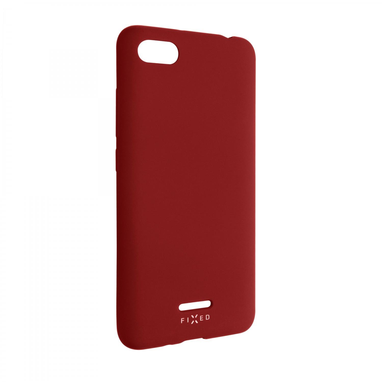 Zadní kryt FIXED Story pro Xiaomi Redmi 6A, červená