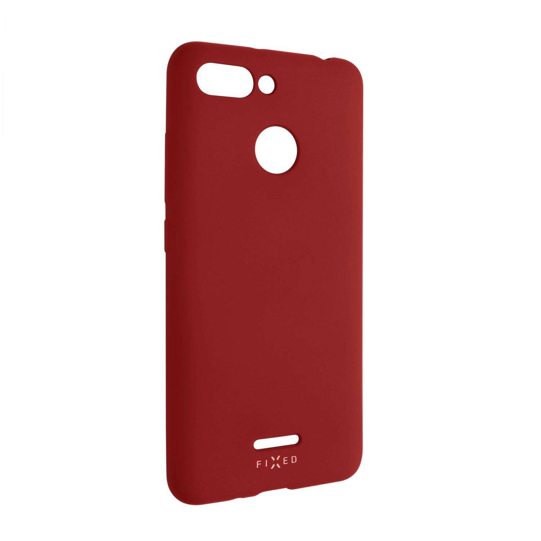 Zadní kryt FIXED Story pro Xiaomi Redmi 6, červená