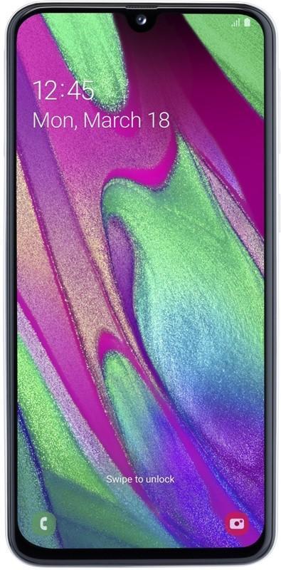 Samsung Galaxy A40 bílá