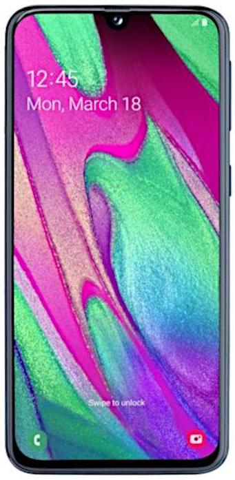 Samsung Galaxy A40 černá
