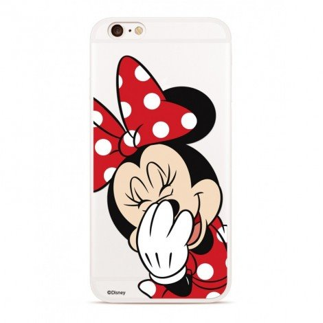 Zadni kryt Disney Minnie 006 pro Samsung Galaxy S8, transparent
